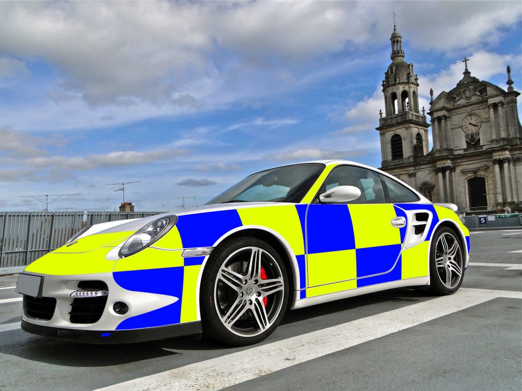 Porsche 911 Turbo UK Police Car